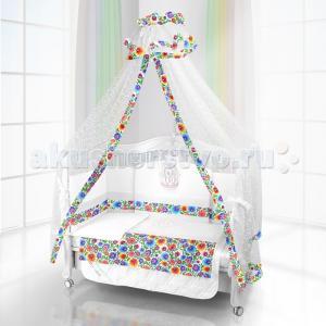 Комплект в кроватку  Unico Bambola 120х60 (6 предметов) Beatrice Bambini