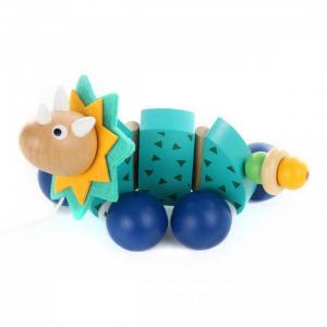 Каталка-игрушка  Динозаврик 85183 Фабрика фантазий