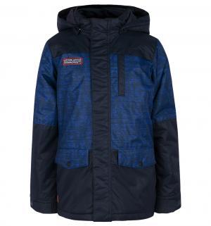 Куртка  Kristof, цвет: синий Luhta