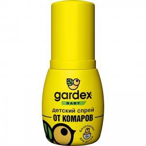 Спрей от комаров, с 1 года, 50 мл,  Baby Gardex
