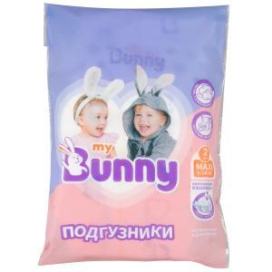 Подгузники  с канальцами Maxi (8-14 кг) 2 шт. My Bunny