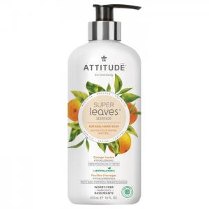 Жидкое мыло Листья апельсина 473 мл Attitude