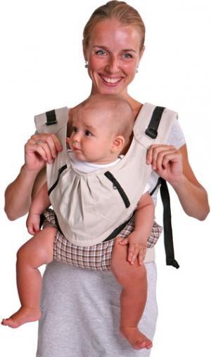 Слинг-рюкзак  Бебимобиль Слинг-рюкзак, цвет: бежевый Чудо-Чадо