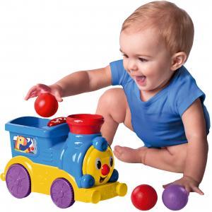 Развивающая игрушка Bright Starts Весёлый паровозик с мячиками Kids II