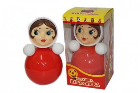 Развивающая игрушка  Неваляшка 26 см Russia