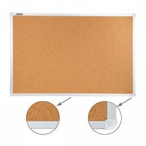 Доска пробковая алюминиевая рамка 60х90 см Brauberg