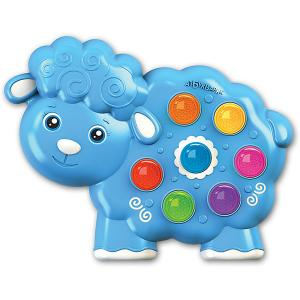 Музыкальная игрушка  Веселушки Овечка Азбукварик. Цвет: разноцветный