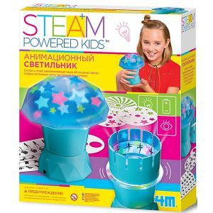 Набор для конструирования  Steam Powered Kids Анимационный светильник 4M. Цвет: разноцветный