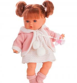 Кукла  Ника в розовом 30 см Juan Antonio