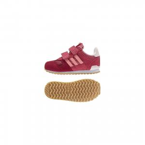Кроссовки ZX 700 CF adidas. Цвет: красный
