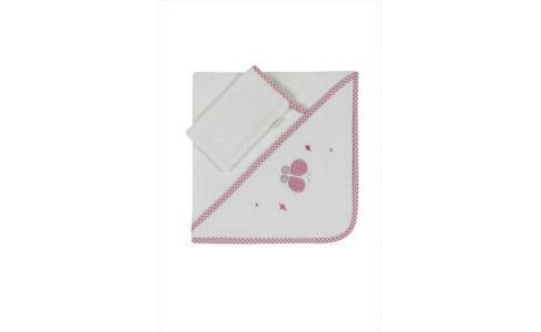 Комплект полотенце-уголок + варежка Funny Dream Kidboo
