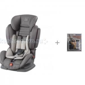 Автокресло  Mustang и АвтоБра Защита спинки сиденья от грязных ног ребенка Happy Baby