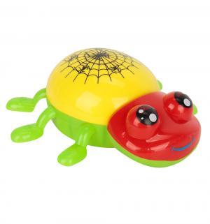 Развивающая игрушка  Паучок желтый S+S Toys