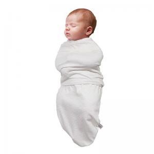 Пеленка для сна ClevaMama с 0 до 3 месяцев цвет кремовый