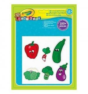 Набор наклеек  Фрукты и овощи Crayola