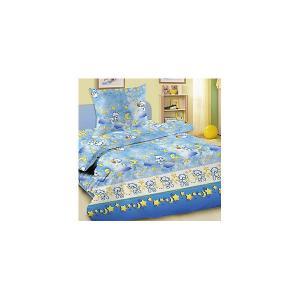 Детское постельное белье 3 предмета , простыня на резинке, BGR-18 Letto