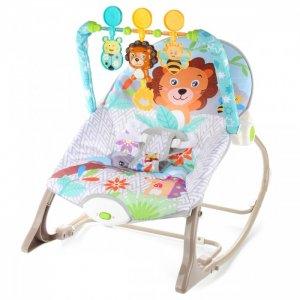 Шезлонг детский с игрушками Львенок Ути Пути
