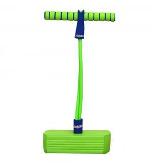 Тренажер для прыжков  со звуком, зелёный Moby Kids