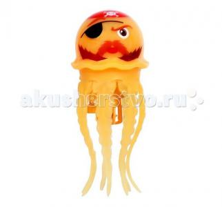 Игрушка для купания Радужная медуза Море чудес