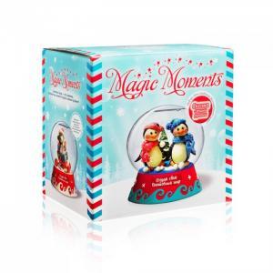 Большой набор Создай Волшебный шар Пингвины Magic Moments