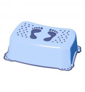 Подставка-ступенька  с антискользящим покрытием Classic, цвет: голубой Maltex