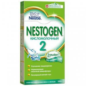 Молочная смесь  Кисломолочный 2 с пребиотиками 6 месяцев, 350 г Nestogen