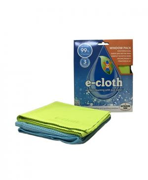 Набор из 2-х салфеток (для мытья окон, для полировки и очистки стекла) E-Cloth