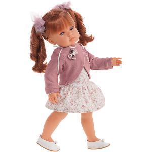 Кукла Juan Antonio Munecas Римма с кудряшками, 45 см. Цвет: розовый