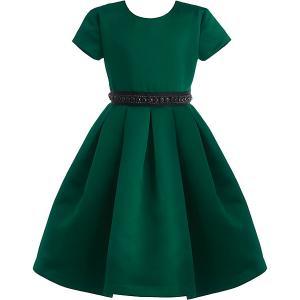 Нарядное платье Gulliver. Цвет: зеленый