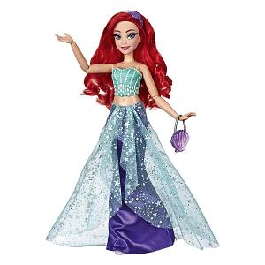 Кукла Disney Princess Модная Ариэль Hasbro. Цвет: разноцветный