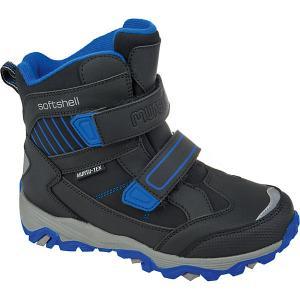Утеплённые ботинки Mursu. Цвет: schwarz/petrol