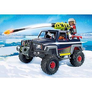 Конструктор Playmobil Ледяной пират со снежным грузовиком, 8 деталей PLAYMOBIL®