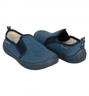 Полуботинки текстильные , цвет: голубой El Tempo
