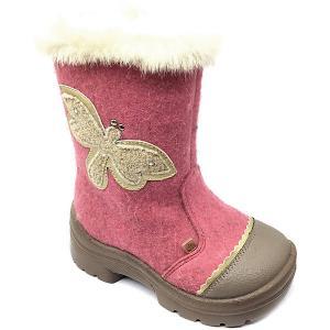 Валенки  Бабочка Филипок. Цвет: розовый