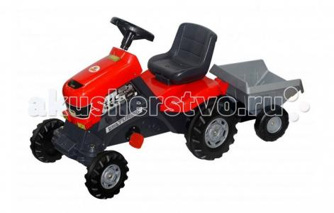 Трактор Turbo с полуприцепом Coloma