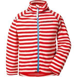 Демисезонная куртка Didriksons Monte Print. Цвет: красный
