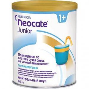 Молочная смесь  Neocate Junior с 12 месяцев, 400 г Nutricia
