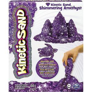Песок для лепки Kinetic Sand с блестками Spin Master. Цвет: разноцветный