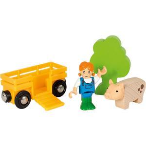 Игровой набор Brio Девочка на ферме