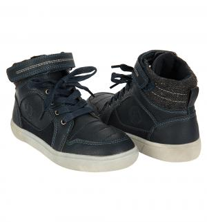 Ботинки , цвет: синий Прыг-Скок