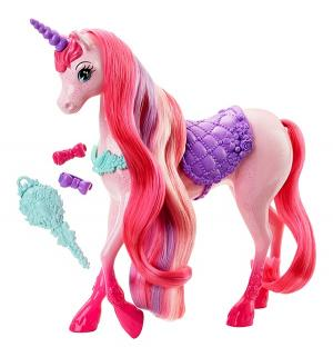 Кукла  Сказочно длинные волосы Единорог Barbie