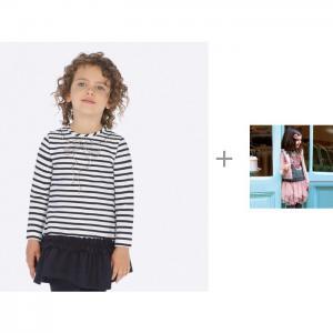 Платье 4943 и комплект одежды 4951 для девочки Mayoral