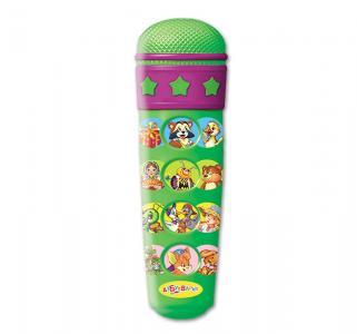 Микрофон-караоке  Любимые песенки Азбукварик