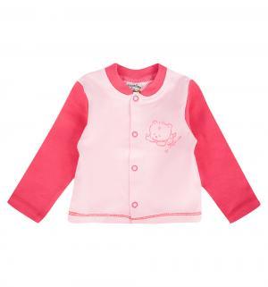 Кофта  Зайчик мой, цвет: розовый Pepelino