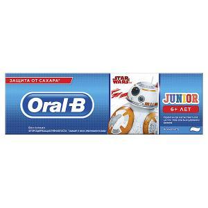 Зубная паста  Junior StarWars, с 6 лет, 75 мл Oral-B