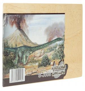 Деревянный конструктор  Апатозавр Wooden Toys