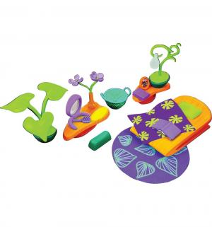 Игровой набор  Спальная комната с фиолетовым ковром Monchhichi