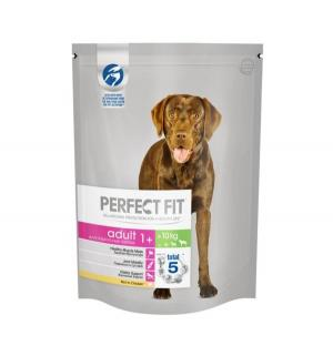 Полнорационный сухой корм  для взрослых собак средних и крупных пород, курица, 800г Perfect Fit