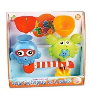 Набор для игры в ванне  Осьминог и Крабик Shantou Gepai