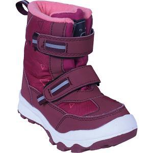 Утеплённые ботинки Color Kids Siguro. Цвет: pink-kombi